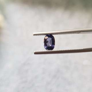 0.80 ct Natural Purplish Blue Spinel