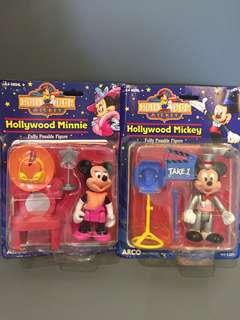 1970 年代 Disney 正版古董米奇美妮 $380/1對 1對出售