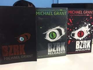 BZRK Trilogy by Michael Grant
