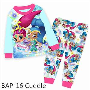 Shimmer and Shine Long sleeve Pajamas BAP16