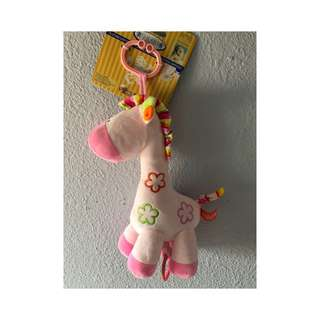 Pull String Musical Pink Pony