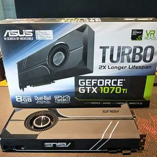 ASUS GTX1070ti 8G Turbo