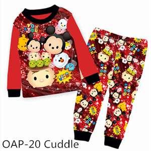 TsumTsum Long sleeve Pajamas OAP20