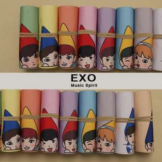 EXO Music Pencil Case