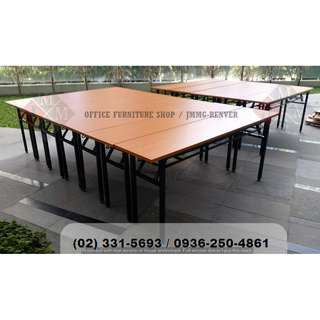 #training-folding table (beech top) office partition