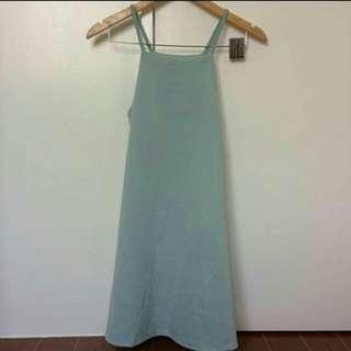 Haltered dress - plain