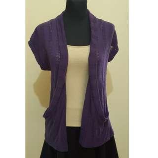 ✔REPRICED✔ Full Tilt Purple Cardigan