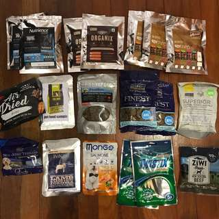 Various Dog Food/Treats
