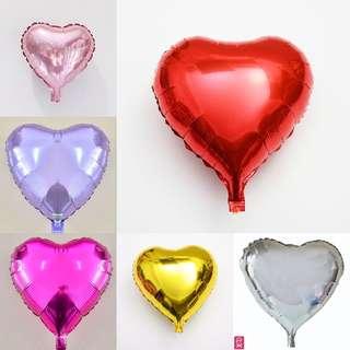 Mini heart balloon