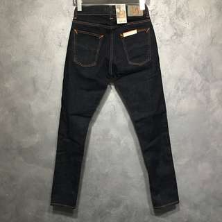 BNWT Nudie Tight Terry Rinsed Twill