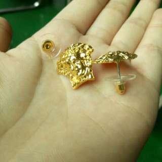 MEDUSA - Gold plated Earring studs