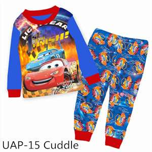 Cars Lightning MC Queen Long sleeve Pajamas UAP15