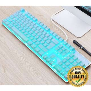 🚚 Semi-Mech Icy Cool Gaming Keyboard