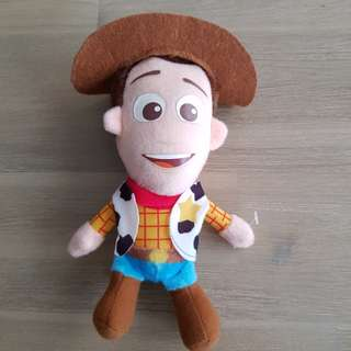 Woody soft toy from toy story