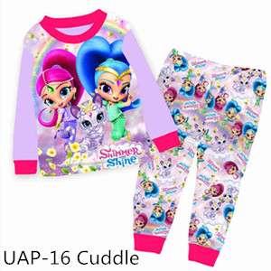 Shimmer and Shine Long sleeve Pajamas UAP16