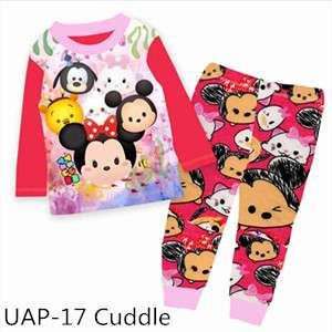 Girl TsumTsum Long sleeve Pajamas