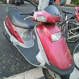 代步機車  光陽125cc