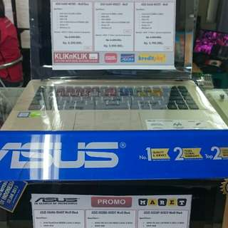 ASUS X441UV-WX280T,cicilan tanpa CC proses 3mnt