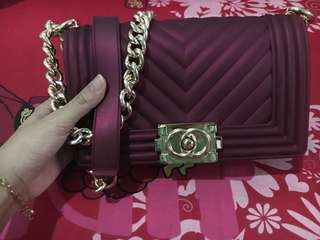 Jelly bag chanel