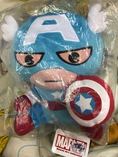 MARVEL CAPTAIN AMERICA STUFFED TOY