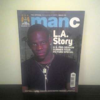 FOOTBALL Magazine (Manchester City - Sept 2011)