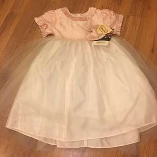 DIMPLES LOS ANGELES SILK GIRLS DRESS FORMAL SZ 2T