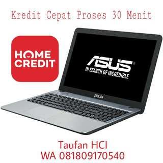 Kredit Laptop Asus A442UR i5/1TB/4GB Win10 Free 1x Cicilan