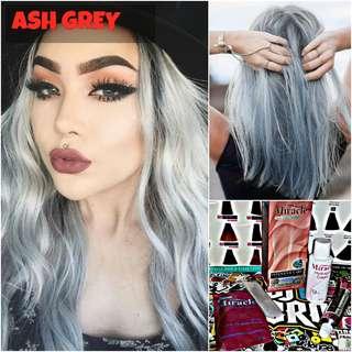 Ash Grey Hair Dye / Colour (PROMO)