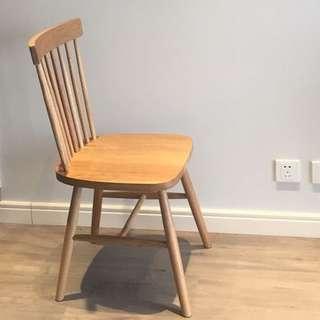 實 木椅 chair muji 風 無印良品style 日本