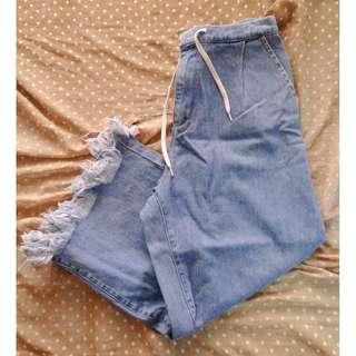Denim Square Pants (bought in JAPAN)