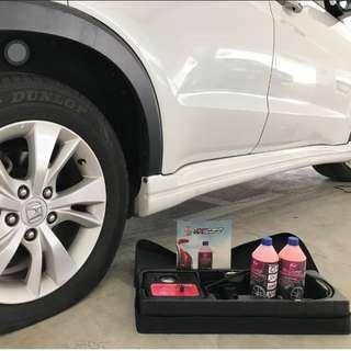 Car puncture repair kit (Tirecare Sealant) Honda Vezel
