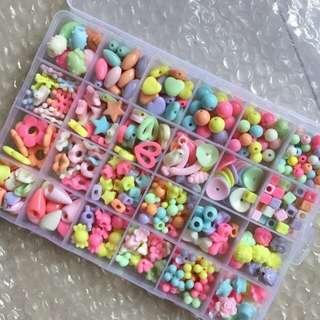 Children beads play