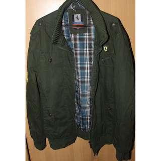 Bomber/ Motorbike Jacket (Olive Green) Heimas Ferrari