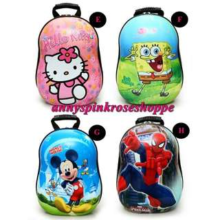 READY STOCK !! Kids Backpack / Eggshell Bag