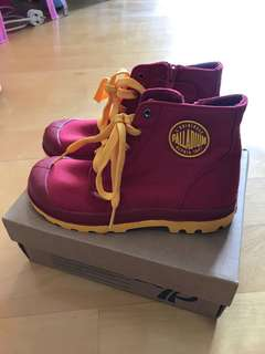 紅色女童鞋