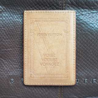 Lv Card Holder fuly leather MADE BY France
