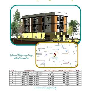 For Sale Pre Selling 3 Storey Townhouse in Quezon City just Across QC Hall