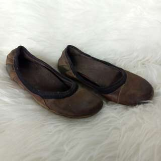 Flat shoes Hush Puppies