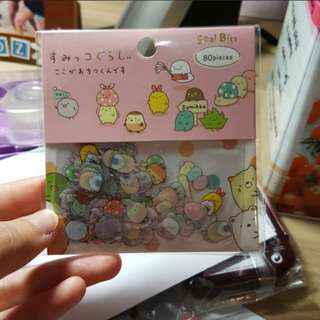 Sumikko Gurashi 80 pieces Seal Stickers (Green Instocks!!)