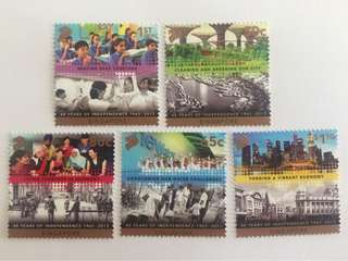 Singapore 2013 48 years of independence mnh