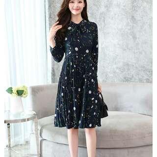 Korean slim fit dress