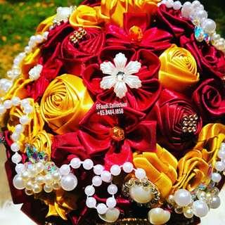 Satin bouquet