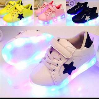 [PREORDER] Kids LED Shoes