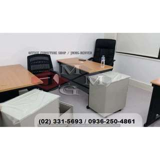 freestanding table ( mobile ped-chairs ) office partition