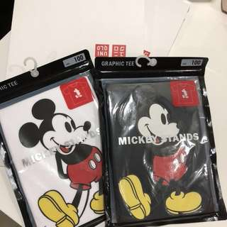 BNIP Uniqlo Mickey Mouse T-Shirts