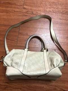 Gucci 7成新側提背包-原價2萬(限台北面交)