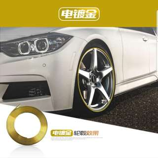 Rims Protector ( left chrome blue only)