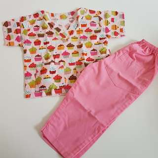 Kid's Scrub Suit set