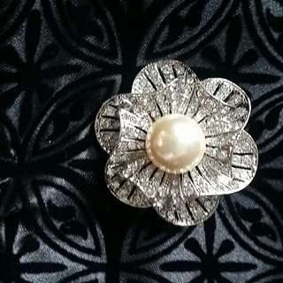 diamante brooch pin 襟針 心口針