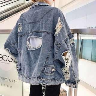 S M L XL Denim jacket